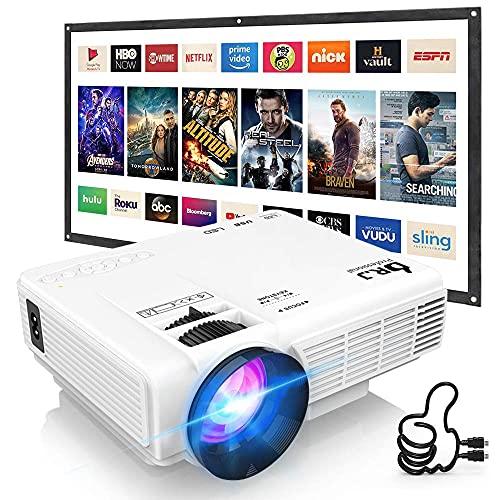 DRJ Professional 7500Lumens Mini Projector for...