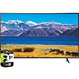 SAMSUNG UN55TU8300FXZA 55 inch HDR 4K UHD Smart Curved TV 2020 Model Bundle with 1 Year Extended...