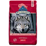 Blue Buffalo Wilderness High Protein Grain Free, Natural Adult Dry Dog Food, Salmon 24-lb