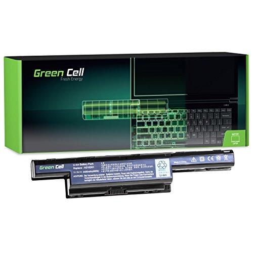 Green Cell® Standard Serie Batería para Packard Bell EasyNote P5WS0 Ordenador (6 Celdas 4400mAh 11.1V Negro)