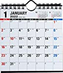 【本体サイズ】134×128(mm) 【掲載内容】5週6週併用,六曜節気,年間一覧カレンダー(2年),年間行事一覧 リングタイプ 日曜始まり