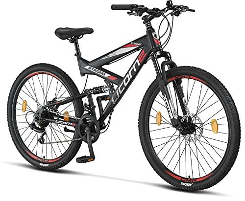 Licorne Bike Bicicleta de montaña Strong 2D, para niños, niñas,...