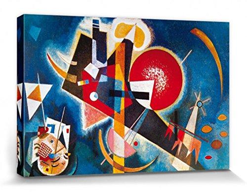 1art1 Wassily Kandinsky - nel Blù, 1925 Stampa su Tela (120 x 80cm)