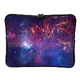 Bolsas para portátil estándar de moda grande - Universe Tablet manga adecuada para viajes profesionales, blanco (Blanco) - BTJC88-DNB-8