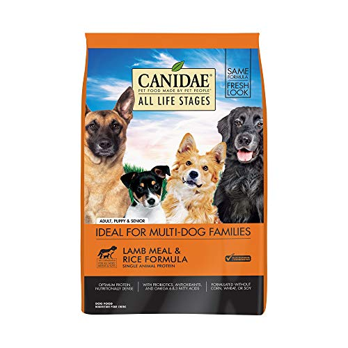 Canidae All Life Stages Dry Dog Food, Lamb Meal...