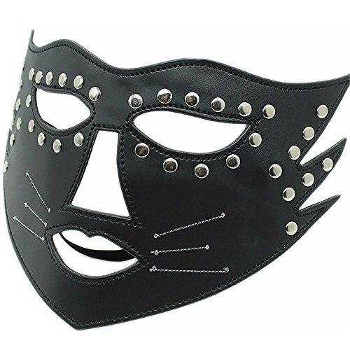 XO-MOK Katzen-/Frauen-Bettwäsche-Set, sexy Maske, für Männer und Frauen, für Cosplay, Paar, Spielzeug, personalisierbar