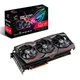 ASUS ROG Strix AMD Radeon RX 5600 XT TOP Edition Gaming Graphics Card (PCIe 4.0, 6GB GDDR6 Memory, HDMI, DisplayPort, 1080p Gaming, Axial-tech Fan Design, Auto-Extreme, Metal Backplate)