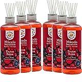 Mikado Reposición 250 ml, Difusor de fragancias botella plastico con varillas...