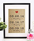 Personalized Valentines Day Gift for Wife or Husband, Wedding,...
