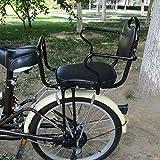Vélo électrique siège arrière pour Enfant Vélo de Montagne Vélo Siège d'enfant pour bébé avec barrière Haute,Black