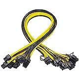 Kamenda Lot de 10 câbles d'alimentation PCI-E 6 broches vers 8 broches (6 + 2)...