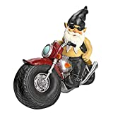 Design Toscano Dekofigur Biker mit Lederjacke, Maße: 14 x 34,5 x 28 cm - 2