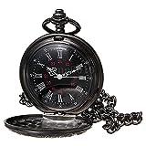 Reloj de bolsillo de collar - SODIAL(R)Reloj de bolsillo de colgant del cuarzo...