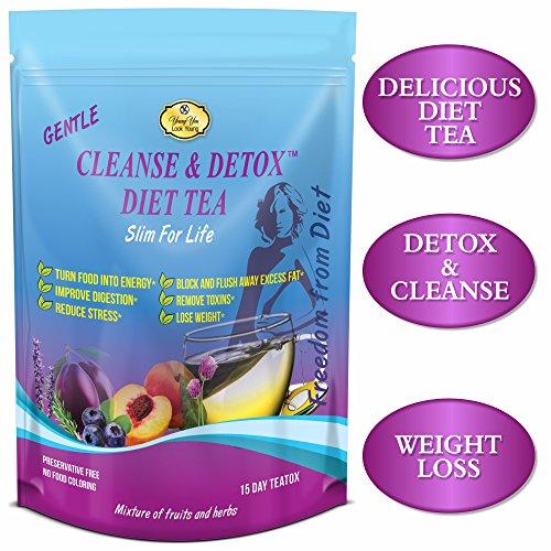E-Z Detox Diet Tea & Slim for Life Detox Tea 3