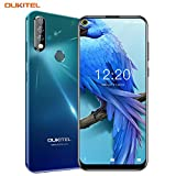 OUKITEL C17 Pro Dual 4G Smartphone Débloqué,Écran Perforé 6,35...