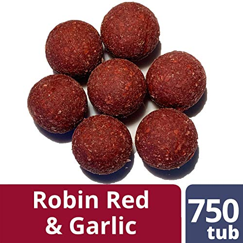 OURONS 20mm Carpa Boiles Aglio & Robin Red Boilies Carpfishing Premium Testato Esche da Pesca
