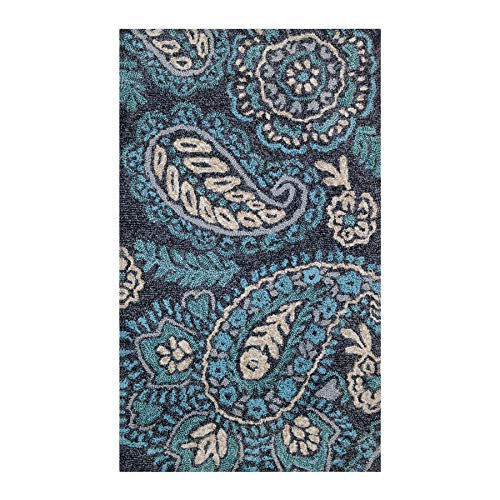 Allen and Roth rugs: Curacoa Outdoor Throw Rug