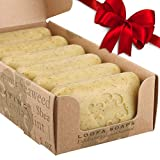 Baudelaire Exfoliating Soap, Sea Loofa Bath Soap & Body Soap, Natural Soap, Triple Milled with 100% Natural Fragrance, 2% Seaweed and Sustainable Palm Oil - 5 oz (COMES IN 6 PIECE BOX!)