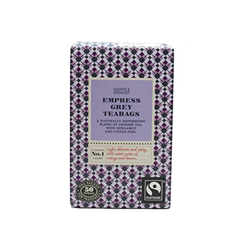 Marks & Spencer Empress Grey Tea 50 Bags (From the UK)