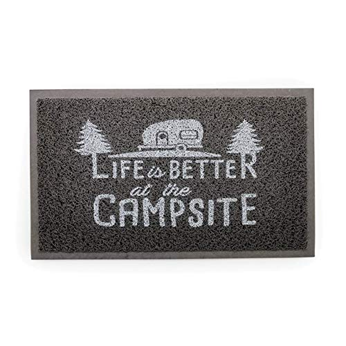 Camco Life Is Better at The Campsite Outdoor & Indoor Welcome Mat...