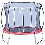 HUDORA Fantastic Trampolin 300 cm - Hochwertiges und sicheres Garten-Trampolin mit Sicherheitsnetz für die...
