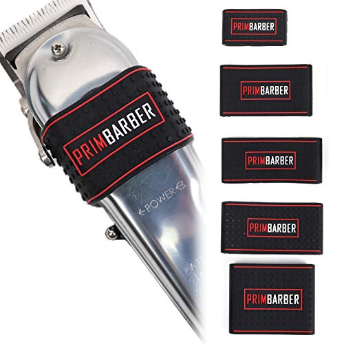 Professional Barber Clipper Grip 5 pcs, Non Slip Barber...