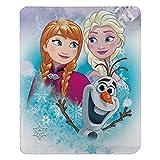 Disney Frozen, 'Snow Journey' Fleece Throw Blanket, 45' x 60', Multi Color, 1 Count