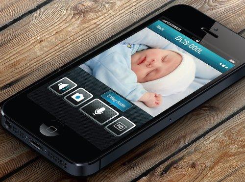 Product Image 1: D-Link DCS-942L Videocamera di Sorveglianza, Wi-Fi N, Visore Notturno, Rilevatore di Movimenti e Suoni, Notifiche Push per Smartphone