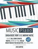 15 Greatest Pop & Movie Hits Piano Music: Piano Book - Piano Music - Piano Books - Piano Sheet Music - Keyboard Piano Book - Music Piano - Sheet Music ... (Piano Music Greatest Pop & Movie Hits 1)