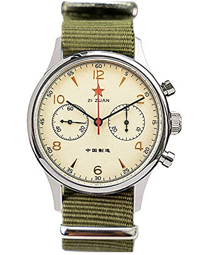 Seagull 1963 40 mm Saphir-Kristall ST1901 Uhrwerk Herren-Chronograph Uhr 1963 SU1963S40