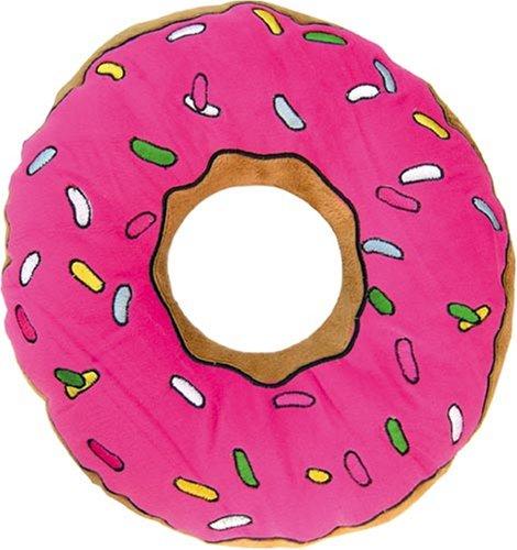 United Labels 0804289 Los Simpson - Cojín con diseño de rosquilla (40 cm)
