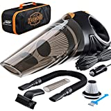 Portable Car Vacuum Cleaner: High Power Corded Handheld Vacuum w/ 16 foot cable - 12V - Best Car &...