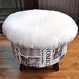 KAIHONG Faux Peau de Mouton en Laine Tapis 45 x 45 cm Imitation Toison...
