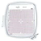 Sew Tech Embroidery Hoop Viking Designer Diamond, Designer Ruby and Designer Topaz 8' x 8' Quilters Hoop