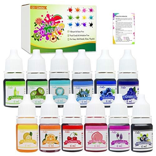 12 Color Soap Dye