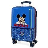 Disney Mickey Moods Maleta de Cabina Rojo 37x55x20 cms Rígida ABS Cierre combinación 32L 2,5Kgs 4 Ruedas Dobles Equipaje de Mano