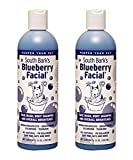 South Bark's - 3 in 1 Blueberry Facial, Shampoo and Brightener for Cats and Dogs - 24oz Bottle