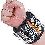 Rovtop Bracelet Magnétique Réglable avec 15 Aimants Super Puissants...
