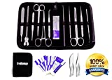22 Piece Dissection Kit - Advanced Lab Dissection Kit for Biology Anatomy Medical Students - Veterinary - Botany - Any Dissection Needs