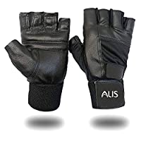 ➤ DURABILITY & FLEXIBILITY – This set of gloves has designed with authentic leather material for gym beginners & professionals both. Our gym gloves feature special material for palm protection for Ultimate Comfort, Increased Range of Motion & Enhance...