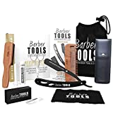 Kit/Set/Coffret d'entretien et de soin pour barbe et rasage. ✮ BARBER TOOLS ✮
