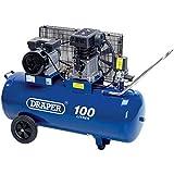 Draper 31254 Belt-Driven Air Compressor, 100L, 230V 2.2KW, 3HP