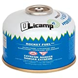 Olicamp Isobutene Propane Rocket Fuel Canister Stove - Mini Size Pocket Backpacking Camping Stove Fuel Camping Light-weight and Compact | 100G /3.5Oz