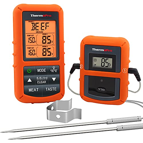 ThermoPro TP20 Wireless Remote Digital Cooking...