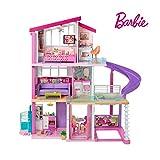 Barbie Mobilier Dreamhouse, maison de poupées à deux étages avec...