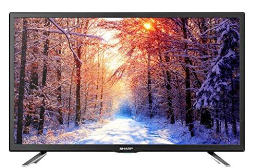 Sharp Aquos LC-24CHG6132E - 24' Smart TV HD Ready LED TV, Wi-Fi, DVB-T2/S2, 1366 x 768 Pixels, Nero,...