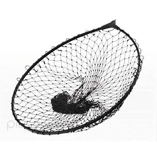 Tubertini Testa di Guadino da Pesca Testa Guadino Black 65x55 cm per Mare Fiume Trota Lago Filettatura Universale