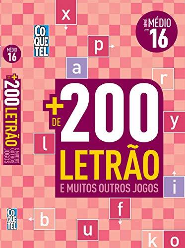 LIVRO COQUETEL + 200 LETRÃO E MAIS OUTROS JOGOS