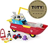 Paw Patrol Sea Patrol - Sea Patroller Transforming Vehicle with Lights & Sounds, Ages 3 & Up (Toy)