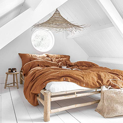 MagicLinen Linen Duvet Cover - Duvet Cover for...